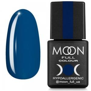Гель-лак MOON FULL color Gel polish №654 глубинный морской