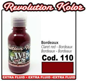 Краска для аэрографии JVR Revolution Kolor, opaque claret red #110,10ml, Бордо