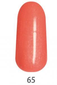 Гель-краска для ногтей My Nail №65 лососевый с микроблеском