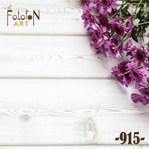Фотофон виниловый 30см/30см  №915 Цветы на дереве