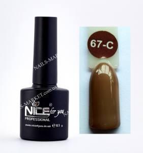 Гель-лак Nice серия cool C67