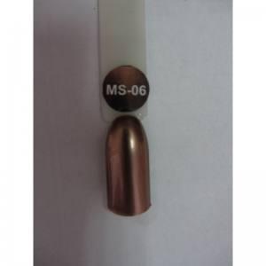 Гель-лак металлик Nice MS-01 №6 шоколад