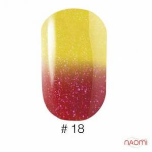 Гель-лак Naomi Thermo Collection 18, 6 мл