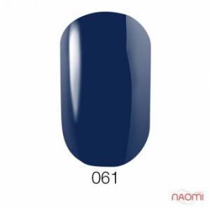 Гель-лак GO 061, 5.8 мл синий, эмалевый