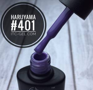 Гель-лак Haruyama Классика №401, темно-лавандовый, 8 мл