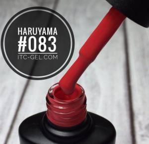 Гель-лак Haruyama Классика №083,ярко-красный, 8 мл