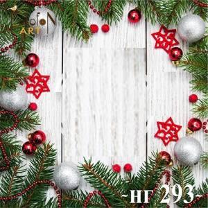 Фотофон виниловый 30см/30см Новый год №293