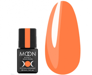 Гель-лак MOON FULL Neon color Gel polish №705 (апельсиновый, неон), 8 мл