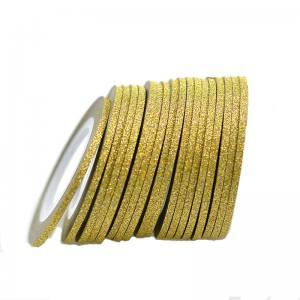 Сахарная лента для дизайна золото