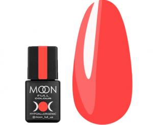 Гель-лак MOON FULL Neon color Gel polish №706 (коралловый, неон), 8 мл