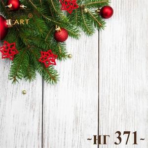 Фотофон виниловый 30см/30см Новый год №371