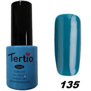 Гель-лак Tertio Темно-бирюзовый №135 10 мл