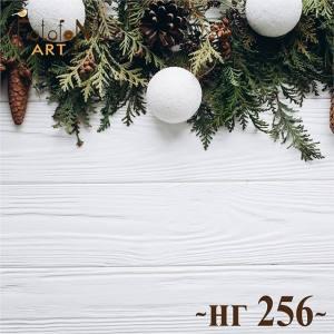 Фотофон виниловый 30см/30см Новый год №256