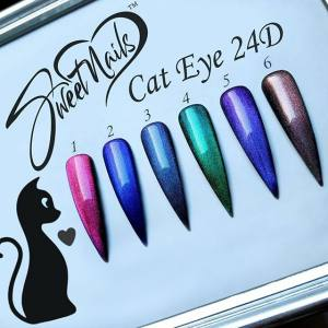Гель-лак Nail Zone  Cat eyes 24D