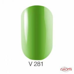 Гель-лак Naomi витражный Vitrage Melody Collection 281, 6 мл