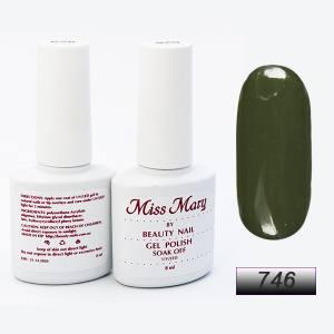 Гель-лак Miss Mary 8ml № 746 ( оливка )