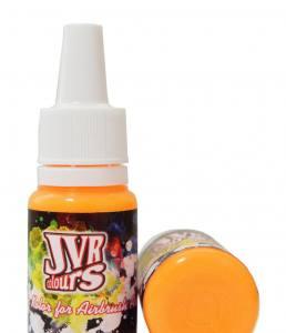 Краска для аэрографа оранжевая JVR Revolution Kolor, orange FLUO #402,10 ml