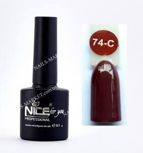 Гель-лак Nice серия cool C74