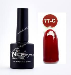 Гель-лак Nice серия cool C77