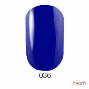 Гель-лак GO 036, 5.8 мл синий с перламутром