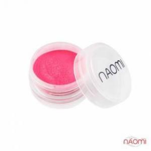 Акриловая пудра Naomi № 006, 3 г, цвет розовый