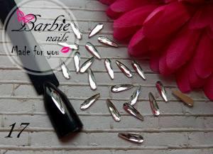Стразы фигурные стекло BarbieNails 1шт №17
