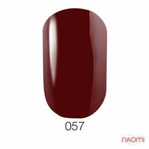 Гель-лак GO 57, 5.8 мл насыщенный бордовый, плотный, эмалевый