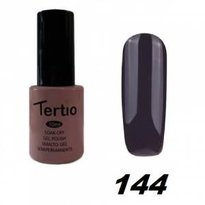 Гель-лак Tertio Серо-сиреневый темный №144 10 мл