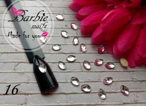 Стразы фигурные стекло BarbieNails 1шт №16