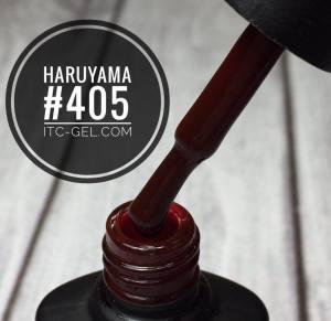 Гель-лак Haruyama Классика №405, красно-коричневый, 8 мл