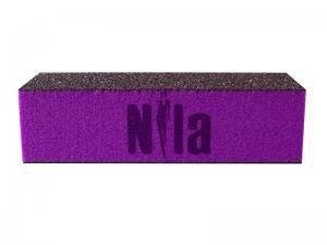 Баф-брусок шлифовочный Nila пурпурный 80\80\80