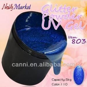 Гель мультицвет синий