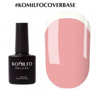Komilfo Cover Base  камуфлирующая база-корректор для гель-лака, 8 мл
