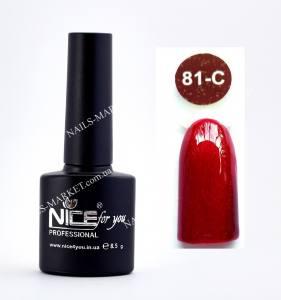 Гель-лак Nice серия cool C81