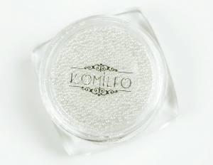 Komilfo хрустальные бульонки хамелеон (стекло), 3 г