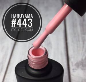 Гель-лак Haruyama Классика №443, персиково-розовый, 8 мл