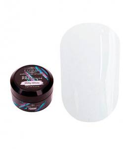 Гель для наращивания Komilfo Gel Premium Milky White (молочно-белый)  15 г