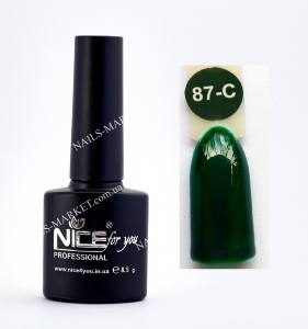 Гель-лак Nice серия cool C87