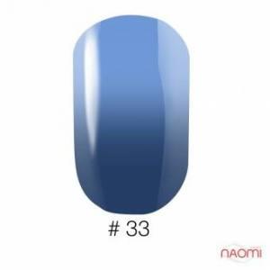 Гель-лак Naomi Thermo Collection 33, 6 мл