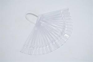 Планшет для образцов веер прозрачный  (30шт) на пластиковом держателе
