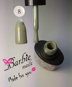 Гель-лак Barbie Nails №8 темный оливковый