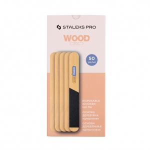 Пила основа деревянная прямая одноразовая STALEKS PRO EXPERT 20 WBE-20 50шт