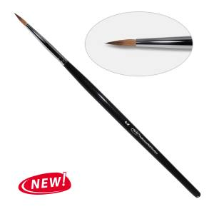 8D. Кисть для дизайна круглая 6-k PNB, колонок/Nail Art Brush round 6-k, kolinsky