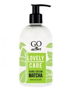 Крем для рук Go Active Lovely Care Hand Cream Matcha Tea, регенерирующий с экстрактом зеленого чая, 350 мл