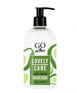 Крем для рук Go Active Lovely Care Hand Cream Avocado Shea Butter, питательный c авокадо и маслом ши, 350 мл