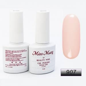 Гель-лак Miss Mary 8ml № 907 ( нежный розовый беж )