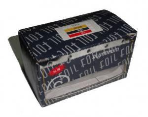 Фольга для снятия гель-лаков, в коробочке с резаком