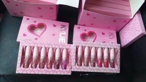 Набор помад Kylie (Кайли) Love 6в1 розовая коробка