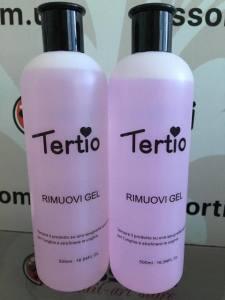 Жидкость для удаления гель-лака Tertio Rimuovi Gel 500 мл