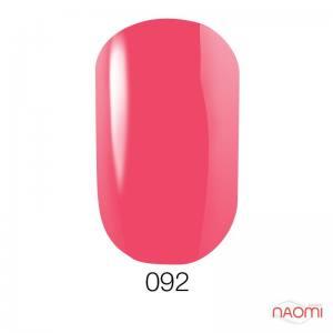 Гель-лак GO 092 розовый коралл, 5,8 мл